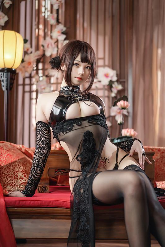 蜜汁猫裘NO.054绝代风华旗袍[50P]-福利好好看