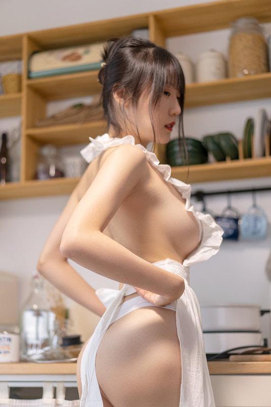 香草喵露露NO.014厨娘[55P1V]-福利好好看