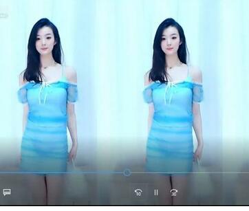 【萝莉网红】虎牙正恒丶虞一2020年七月份直播舞蹈录像剪辑版