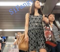 【CD抄底】487系列CW086-美女坐地铁不知裙底已曝光