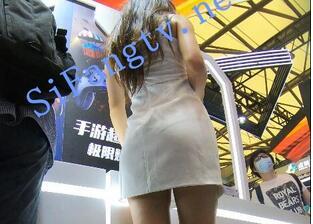 名门夜宴2020Chniajoy系列03-长腿美女模特穿骚丁弯腰