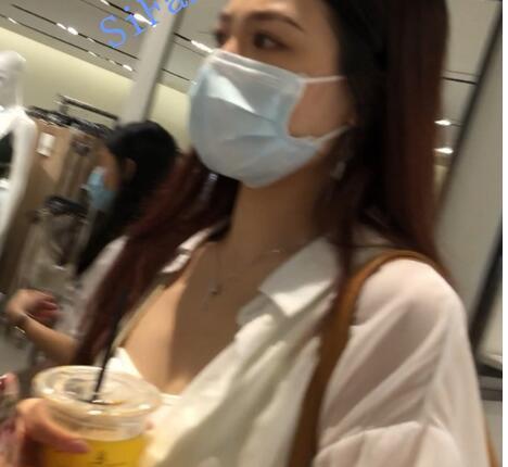 【CD抄底】精品国产bgg系列-ht654-656-长裙骚丁美女宛如没穿