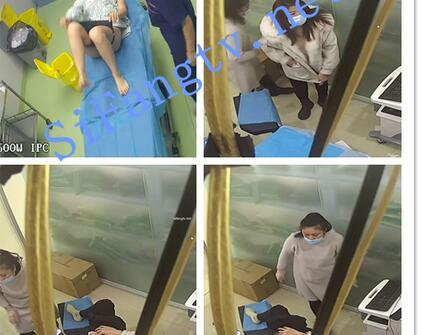 【破解摄像头】医院整形丰胸检查阴道,刮b毛插尿管
