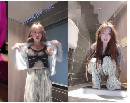 公厕女王【小性感】水晶狼牙套紫薇喷水尿尿,高潮翻白眼