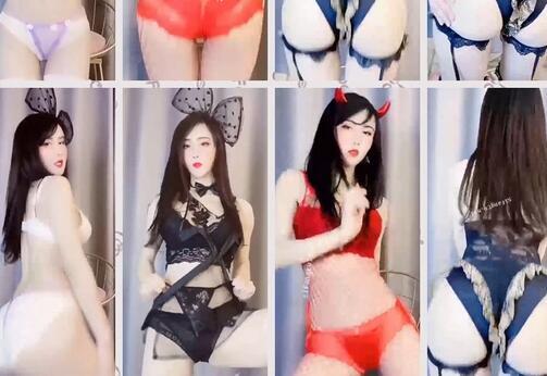 快手人气女神【大仙子】最新定制,首次透明内裤露毛毛
