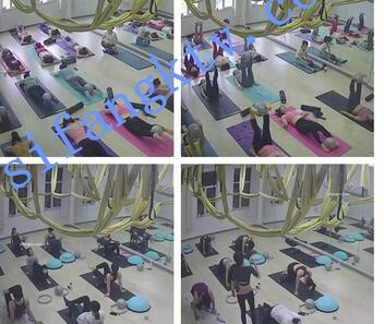【破解摄像头】某主题瑜伽馆换衣服及练瑜伽