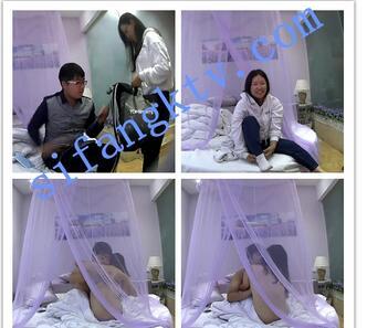 【360酒店】紫纱主题圆床房情侣们爱的展现