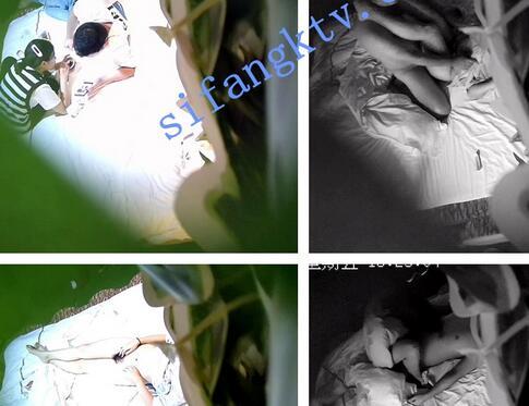 【酒店摄像头】最新8月酒店摄像头眼镜哥玩丝袜