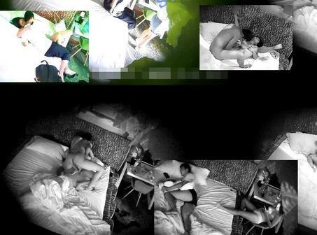 九月第11弹【酒店摄像头】小情侣开房像在杀猪,