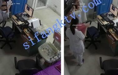 【破解摄像头】医院护士换衣服及B超检查