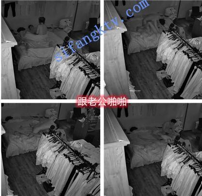 【破解摄像头】服装店老板娘偷情,野男人VS老公的区别