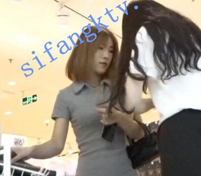 【KingK獨家CD】-N级-GZ8-开叉短裙短发美女勒太紧看到屁股缝