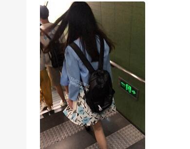 【TIMCOB】⭐CD原创⭐穿着吊带袜上班??地铁遇到蓝色内丝袜