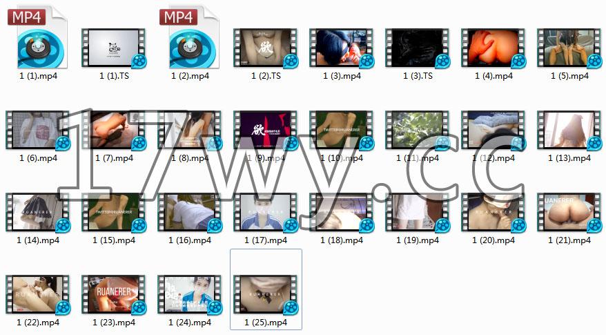 小七软同学私拍情景剧视频图片资源全套合集