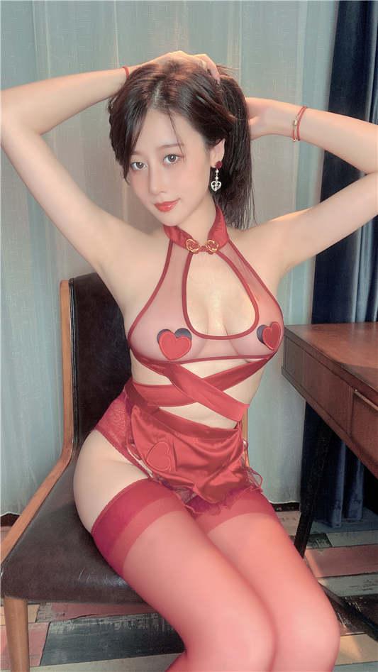 奈汐酱Nice – 红夫人[40P/102MB]